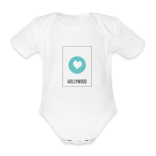 I Love Hollywood - Baby Bio-Kurzarm-Body