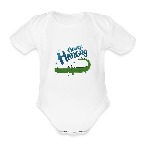 Always Hangry - Baby Bio-Kurzarm-Body