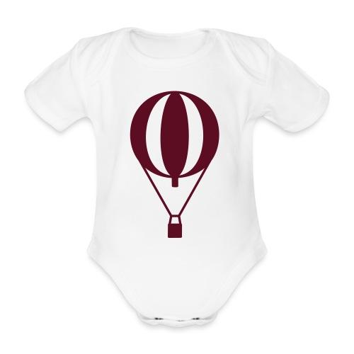 Gasballon prall - Baby Bio-Kurzarm-Body
