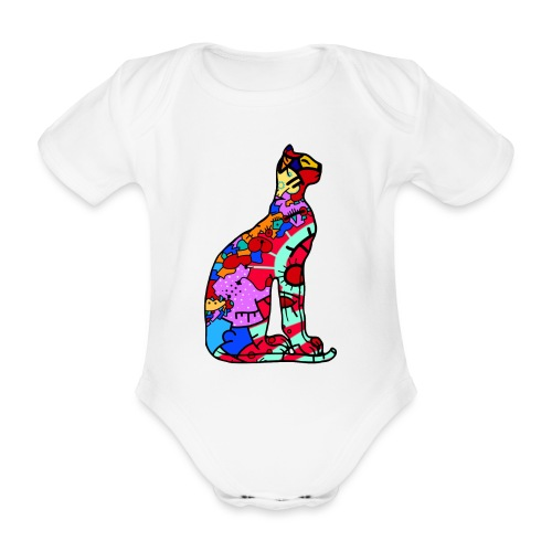 Serenicat - Organic Short-sleeved Baby Bodysuit