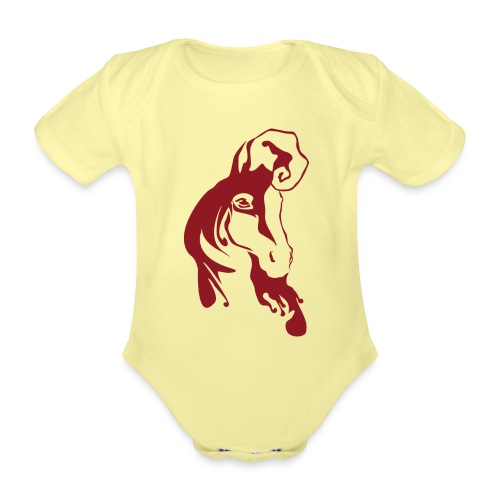 Hepo - Vauvan lyhythihainen luomu-body