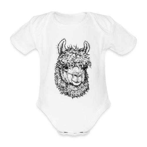 Alpaka - Baby Bio-Kurzarm-Body