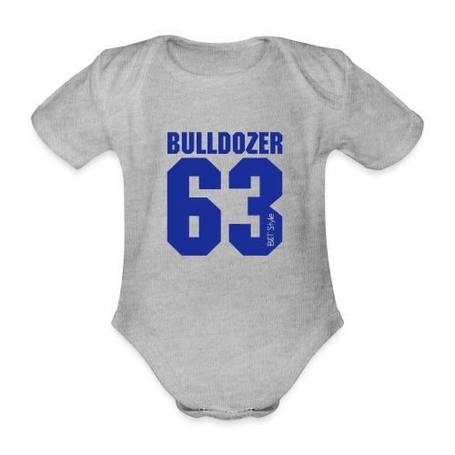 Bulldozer 63 - Body ecologico per neonato a manica corta