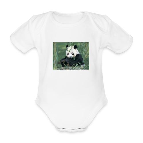 wiiiiiiiiiiiiiiiiie - Baby bio-rompertje met korte mouwen