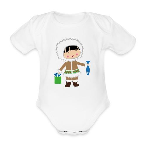 Happy Meitlis - Alaska - Baby Bio-Kurzarm-Body