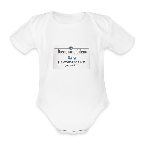 Diccionario caleño_ñata - Body orgánico de manga corta para bebé