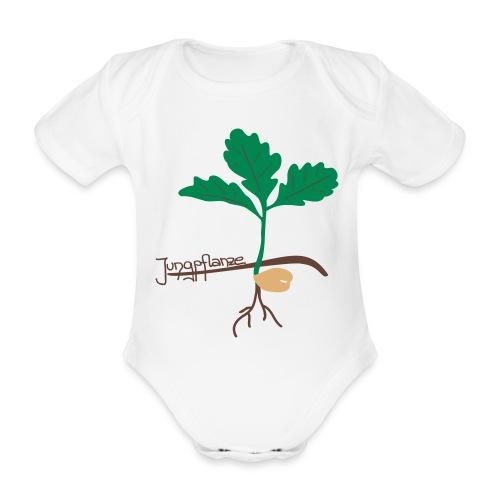 Eichen Jungpflanze - Baby Bio-Kurzarm-Body