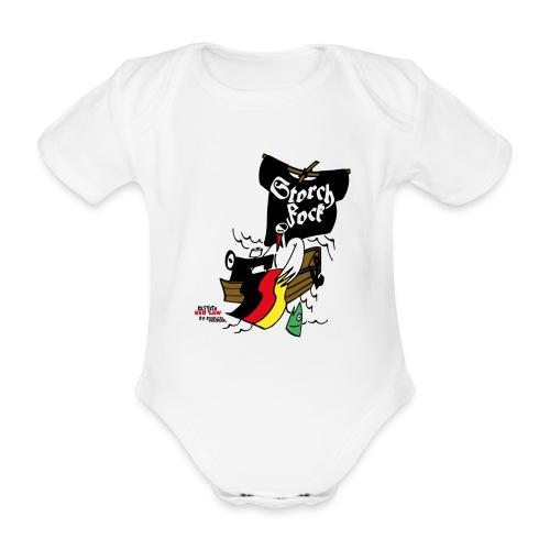 storchfock1 - Baby Bio-Kurzarm-Body