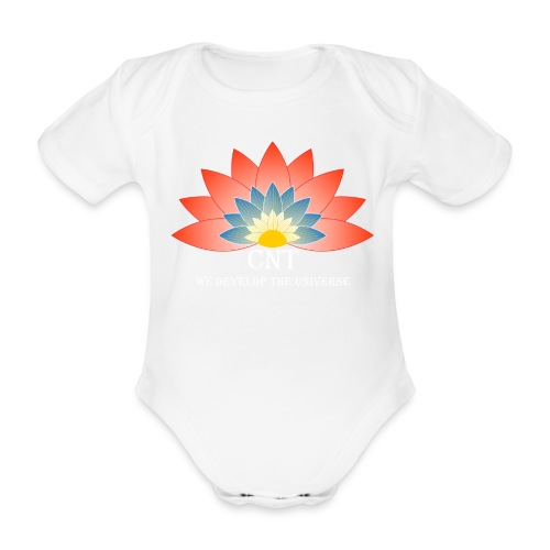 Support Renewable Energy with CNT to live green! - Organic Short-sleeved Baby Bodysuit