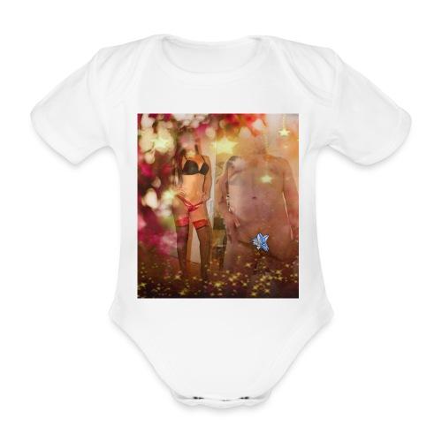 herbst Sinfonie - Baby Bio-Kurzarm-Body