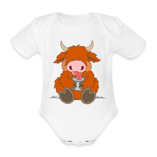Shortcake - Die Milch macht's! - Baby Bio-Kurzarm-Body