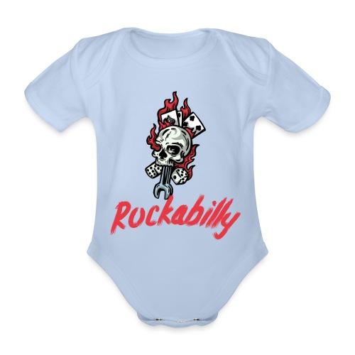 rockabilly - Body Bébé bio manches courtes