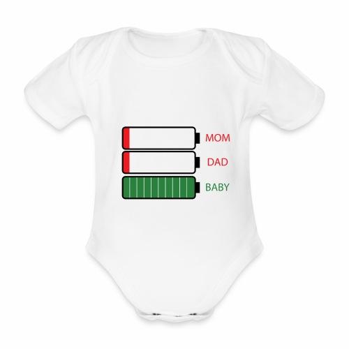 BABY LOAD - Body Bébé bio manches courtes