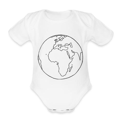 Mutter Erde - Baby Bio-Kurzarm-Body
