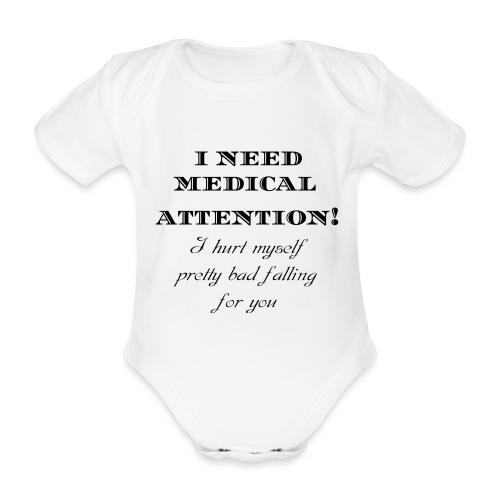 Attention - Vauvan lyhythihainen luomu-body