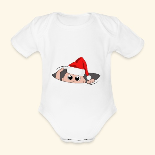 Baby Nikolaus - Baby Bio-Kurzarm-Body