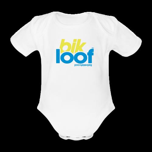 bik loof - Baby Bio-Kurzarm-Body