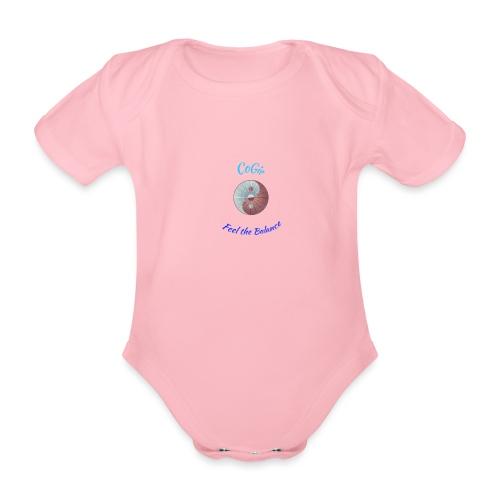 CoGie, Feel the Balance - Organic Short-sleeved Baby Bodysuit
