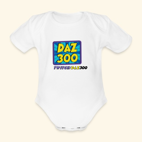 logo 2 - Organic Short-sleeved Baby Bodysuit