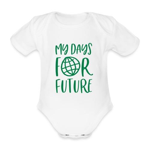 my days for future - Achtsamkeit jeden Tag - Baby Bio-Kurzarm-Body