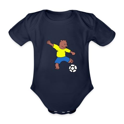 Bill le footballeur - Body Bébé bio manches courtes