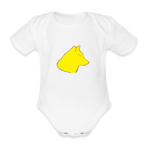 wolfes - Kortærmet babybody, økologisk bomuld