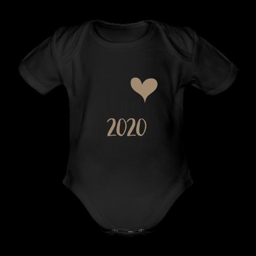 Papa 2020 - Baby Bio-Kurzarm-Body