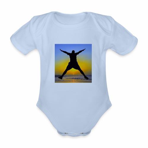 Sunset Beach 3 - Baby Bio-Kurzarm-Body