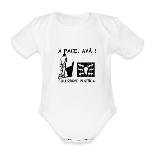 A PACE AVA 2 - Body Bébé bio manches courtes