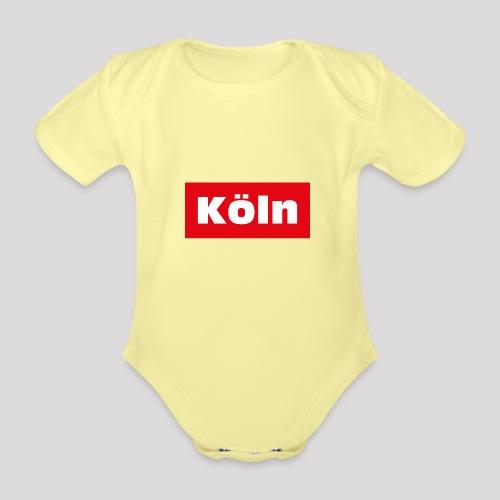 Köln - Baby Bio-Kurzarm-Body