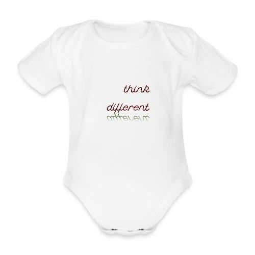 thinkdifferent - Baby Bio-Kurzarm-Body