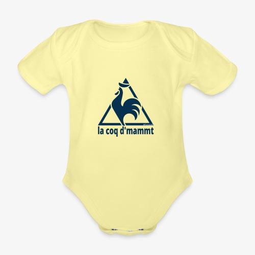 La Coq d'Mammt - Body ecologico per neonato a manica corta