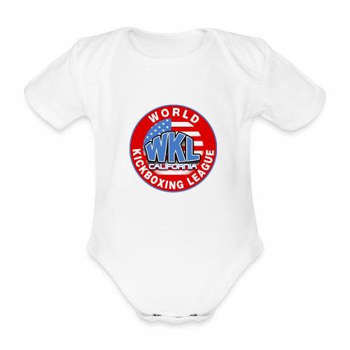 WKL CALIFORNIA - Body orgánico de maga corta para bebé
