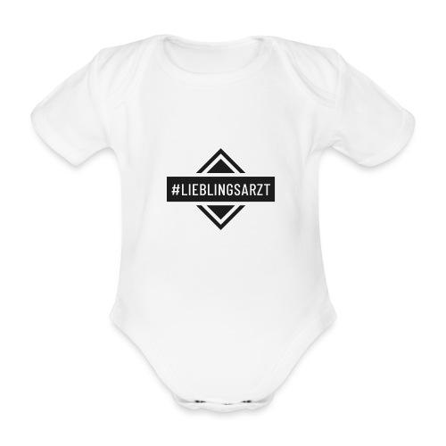 Lieblingsarzt (DR13) - Baby Bio-Kurzarm-Body