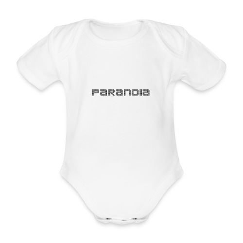 paranoia retro collection - Ekologisk kortärmad babybody