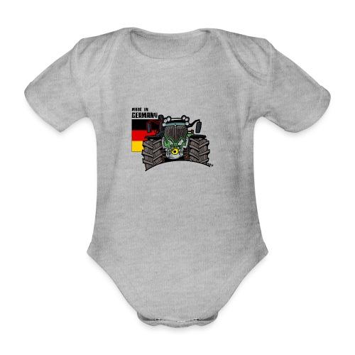 made in germany F - Baby bio-rompertje met korte mouwen
