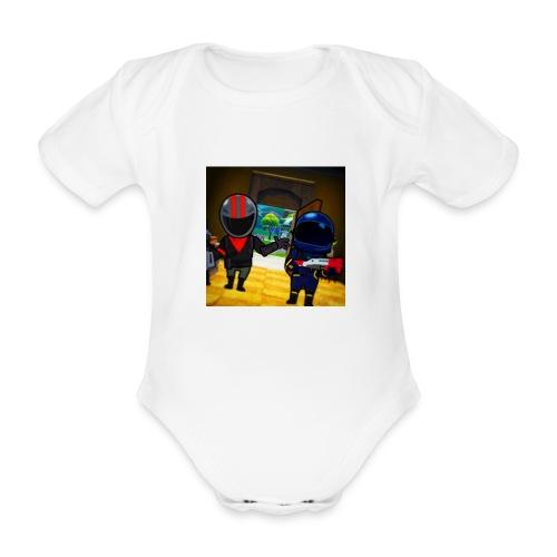 gg - Ekologisk kortärmad babybody