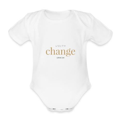 Liebliche Kollektion: Enjoy the Change - Baby Bio-Kurzarm-Body