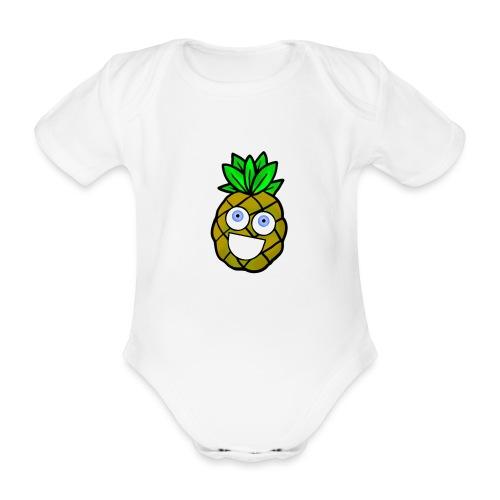 Shananas - Baby bio-rompertje met korte mouwen
