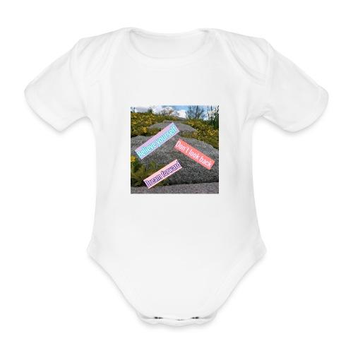 believe yourself - Ekologisk kortärmad babybody