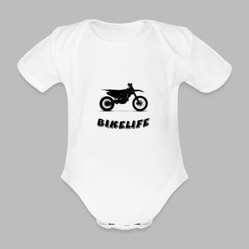 Bikelife - Ekologisk kortärmad babybody