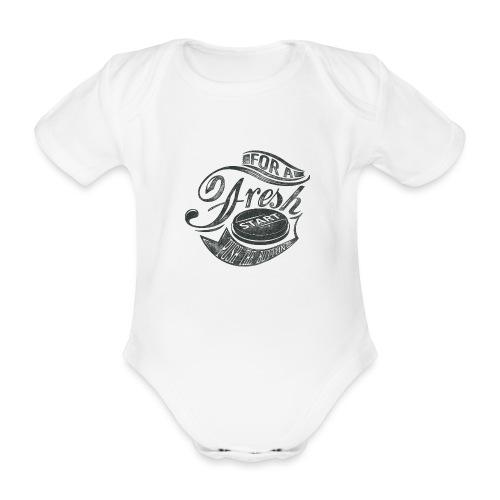 Fresh start - Baby Bio-Kurzarm-Body