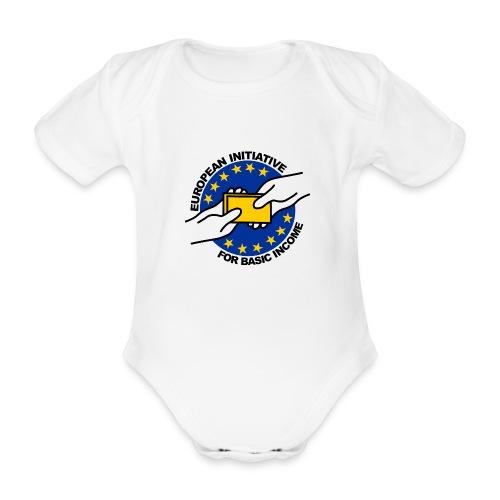 ECI-UBI-CUP-EN - Baby bio-rompertje met korte mouwen