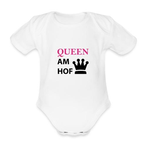 Queen am Hof - Baby Bio-Kurzarm-Body