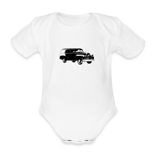 1947 chevy van - Baby Bio-Kurzarm-Body