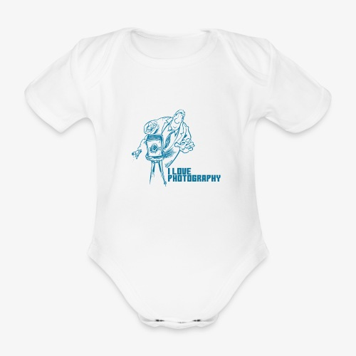 Photography - Body orgánico de maga corta para bebé
