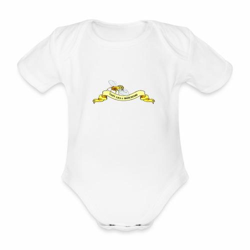 Vårt Lilla Honungsbi - Ekologisk kortärmad babybody