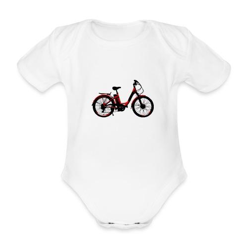 E Bike Elektrorad Shirt - Baby Bio-Kurzarm-Body