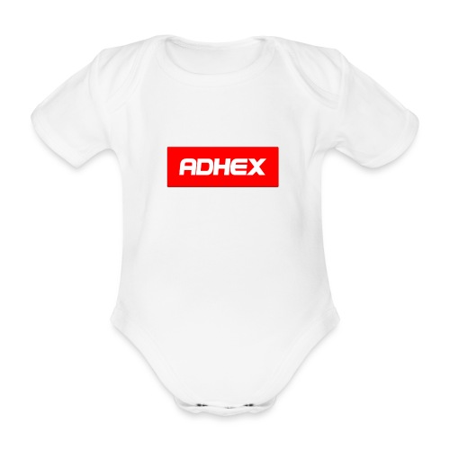 Adhex X Suprim - Body orgánico de maga corta para bebé