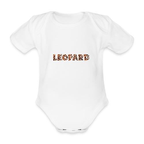 leopard 1237253 960 720 - Baby Bio-Kurzarm-Body